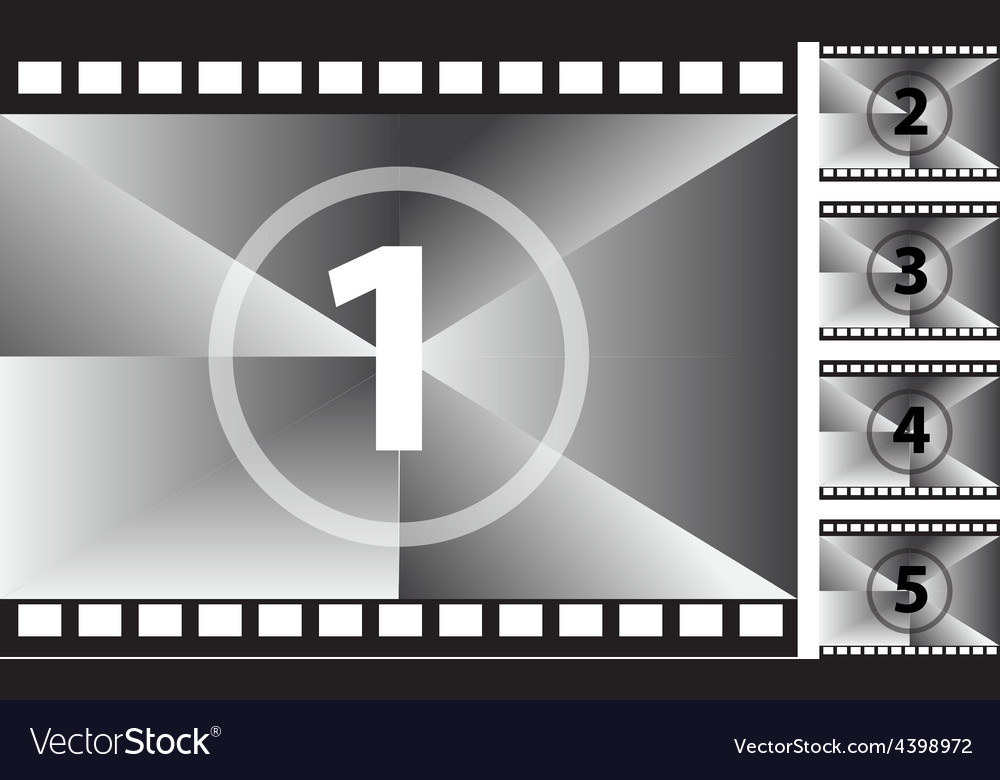 Film strips Royalty Free Vector Image - VectorStock