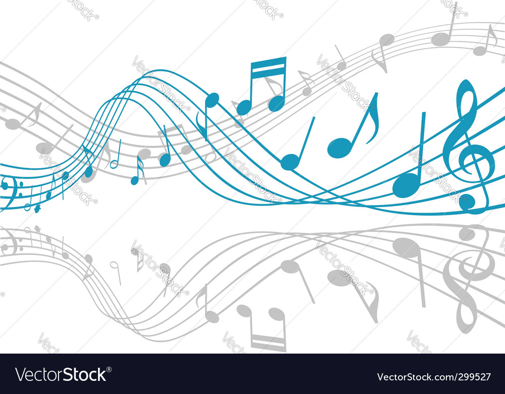 Music background Royalty Free Vector Image - VectorStock