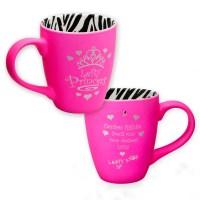 Lefty Princess Pink Zebra Mug