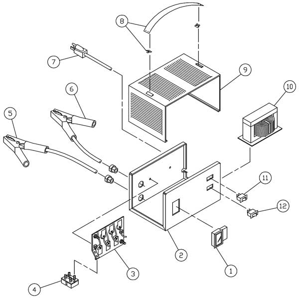 century battery charger wiring schematic