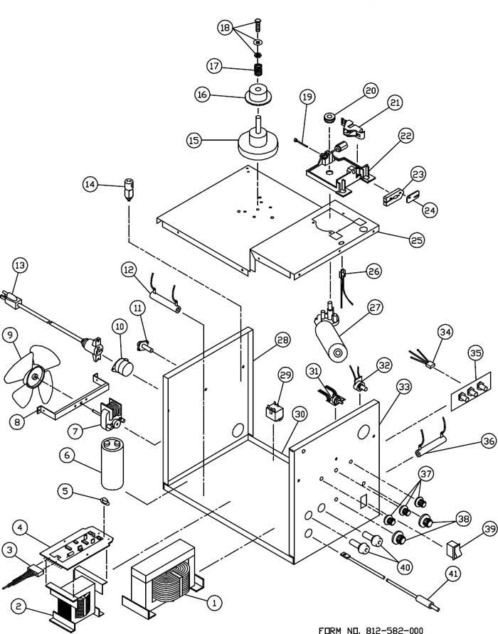 110 mig welder ledningsdiagram