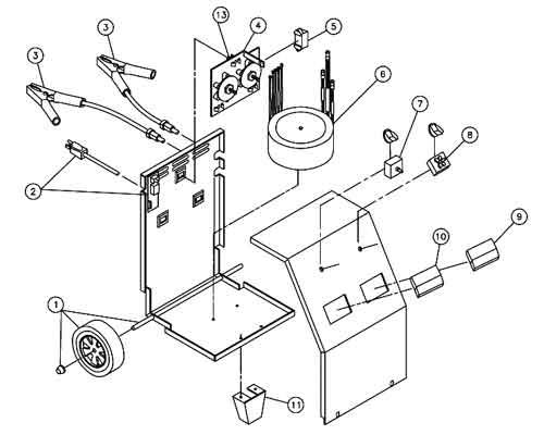 12 volt start ledningsdiagram