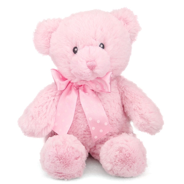 Cute Small Baby Girl Wallpapers 12 Inch Baby Safe Classic Plush Pink Teddy Bear By Aurora