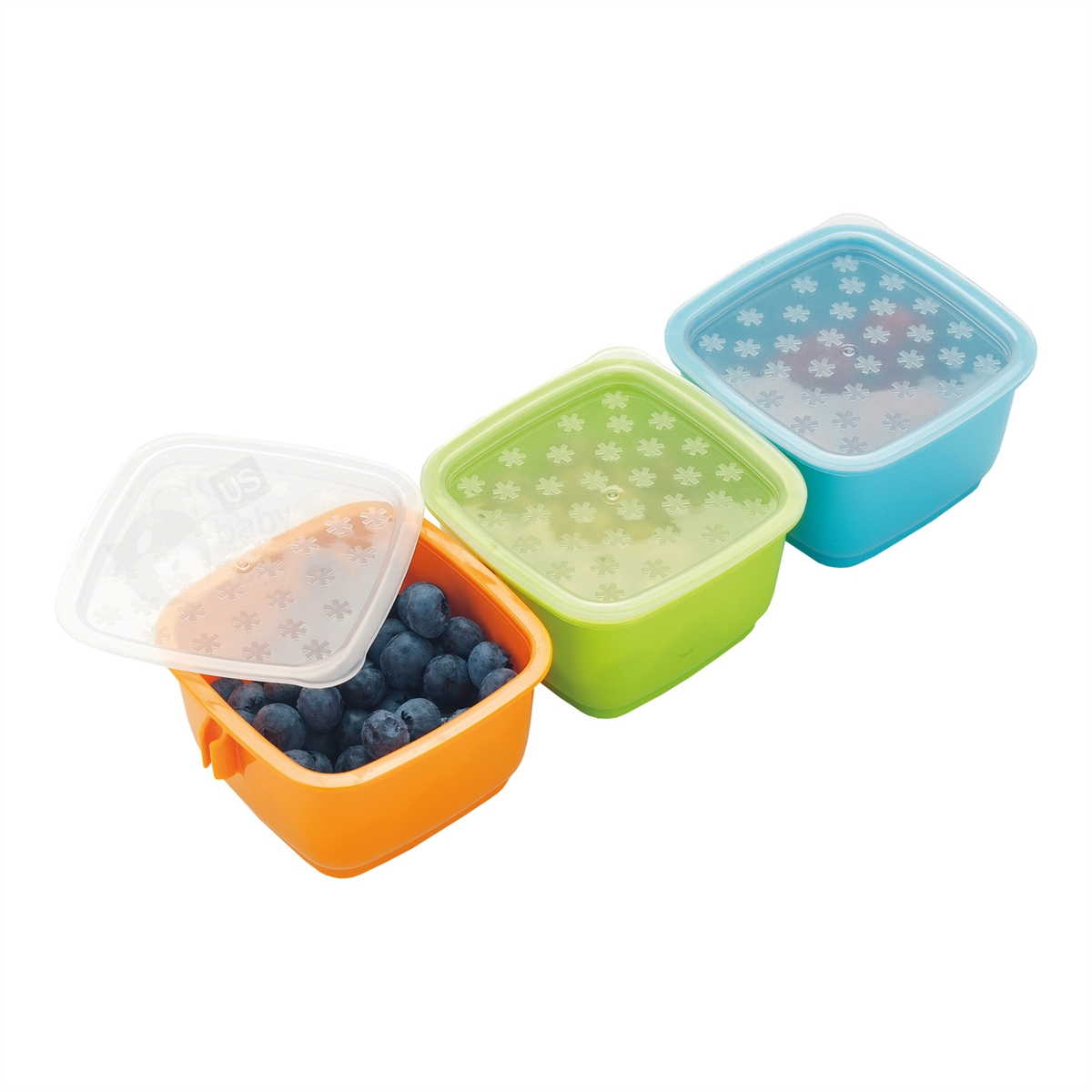 Clix Mealtime Container 3 Pc Set Skip Hop