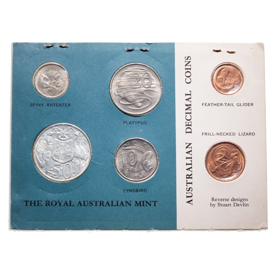 Mint Set Australia 1966 Elizabeth Ii Mint Set