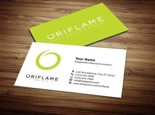 Oriflame Business Card Design 1 - buisness card design