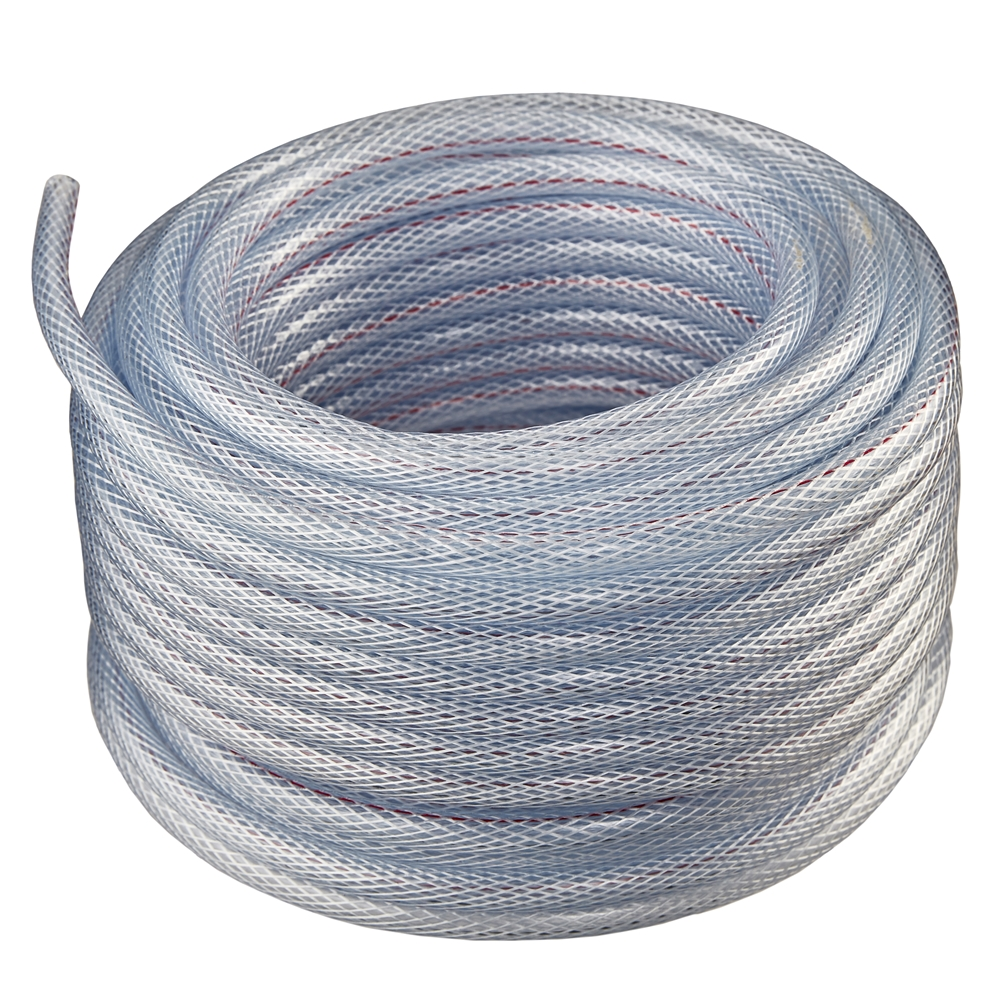 Vinyle Pvc Flexible Non Toxic Clear Pvc Braided Vinyl Tubing