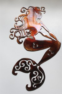 Mermaid Metal Art
