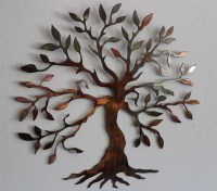 Olive Tree - Tree of Life Metal Wall Art