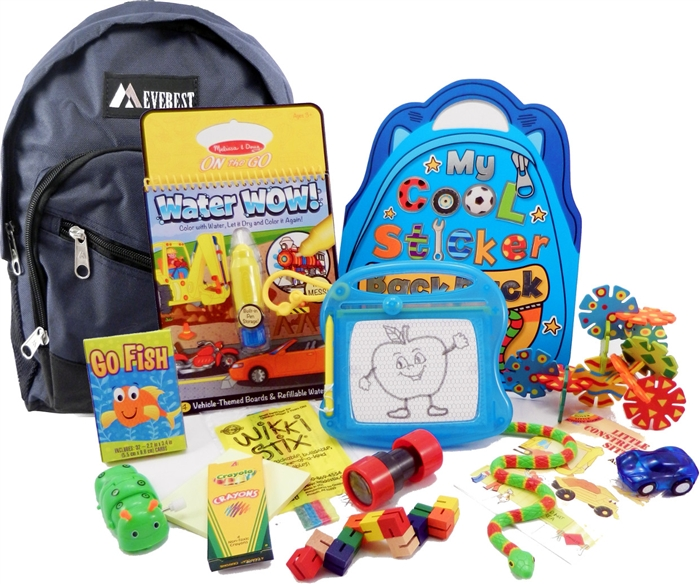 The Pack For 3 To 5 Year Old Boys Is A Child Sized