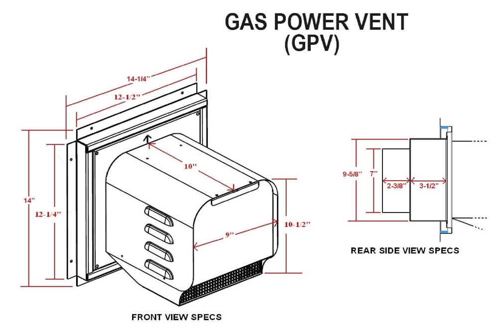 wiring diagram for gas fireplace blower