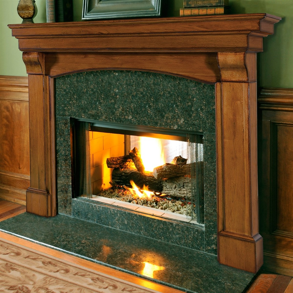 Blue Fireplace Fireplaceinsert.com, Pearl Mantels Blue Ridge Fireplace