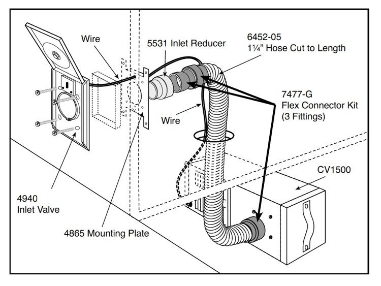4 wire intercom wiring instruction diagram