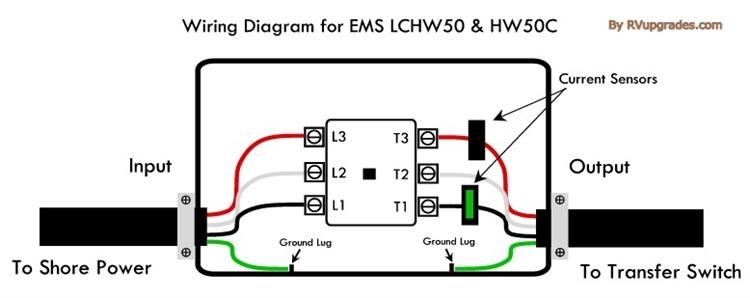 50 amp rv plug wiring diagram electrical adapters