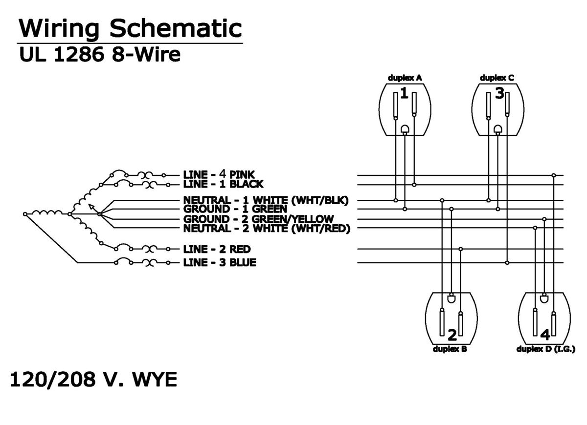 cubicle wiring diagram