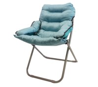 College Club Dorm Chair - Plush & Extra Tall - Calm Aqua ...