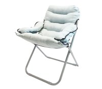 College Club Dorm Chair - Plush & Extra Tall - Stone Gray ...