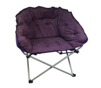 Oversized College Chair - Dark Purple Dorm Furniture