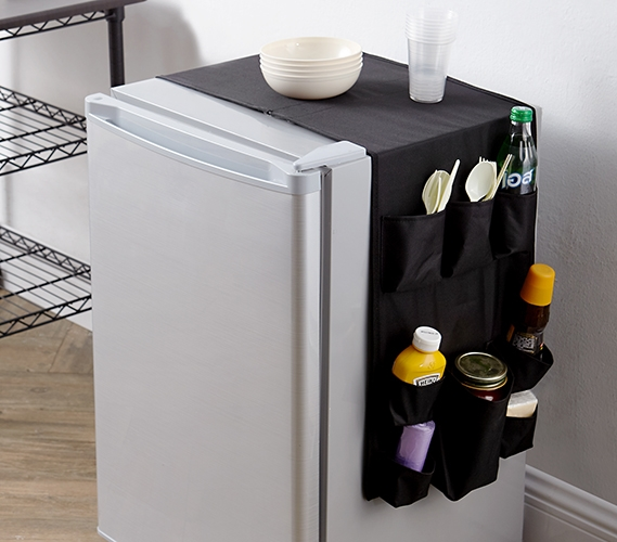 Essential Over the Fridge Double Sided Black Cookin Caddy Multi