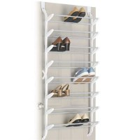24 Pair Shoe Rack (non-slip) Over the Door - cheap closet ...