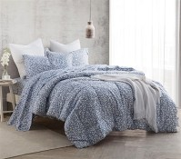 Gray College Comforter Designer Patterned Extra Long Twin ...