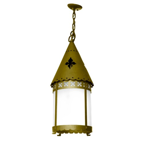 Medium Of Brass Pendant Light