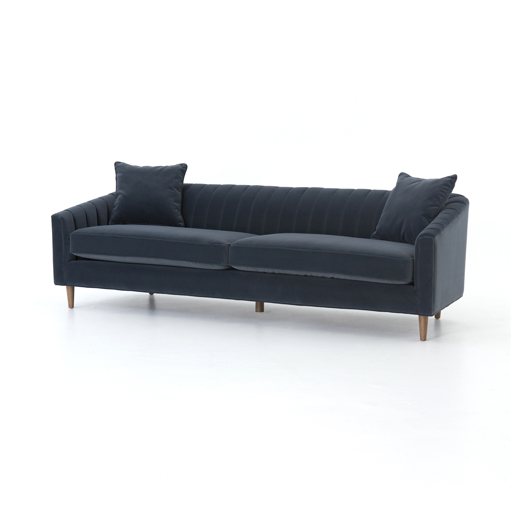 Made Sofa Velvet Kensington Eve Sofa 96