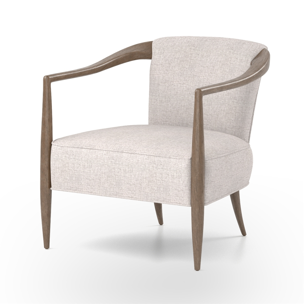 399 Furniture Store Kensington Atwater Chair In Axis Stone The Khazana Home Austin Furniture Store