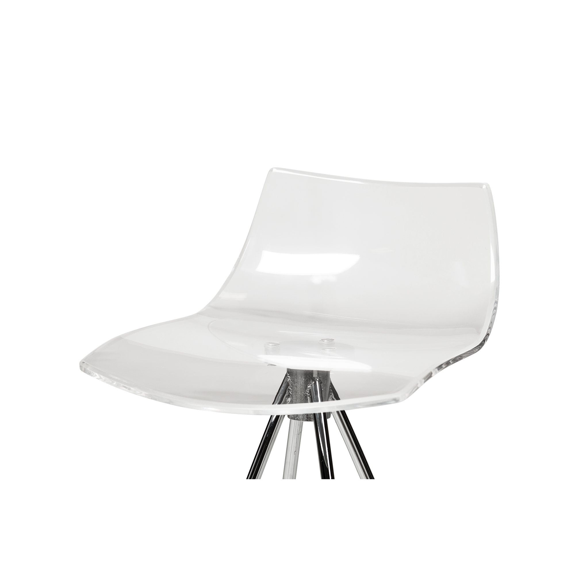 Chaise Calligaris Calligaris Ice Style Clear Counter Stool