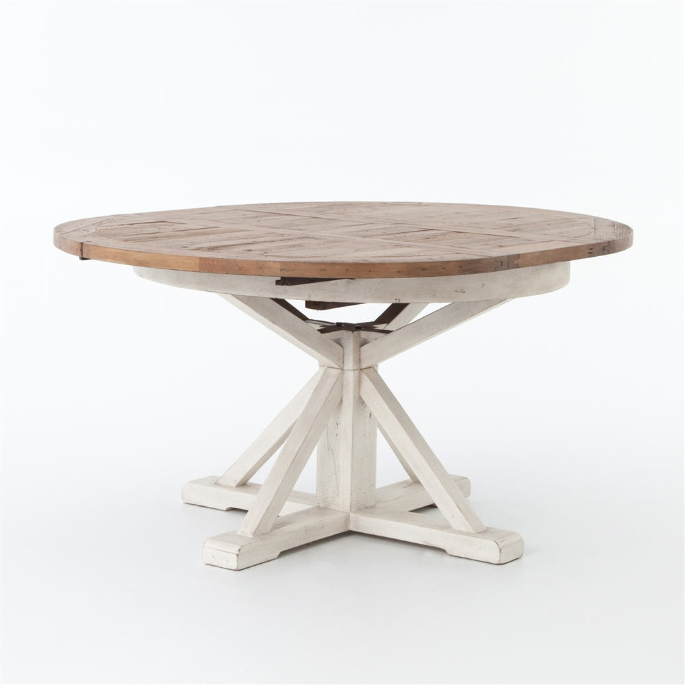 Round Dining Table With Extensions Cintra Extension Dining Table 48