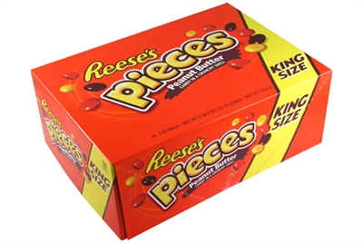 King Size Reeseaeurtms Pieces 18ct Display Box The