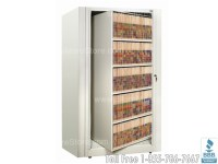 Rotary File Shelf Cabinet Five Shelf | Rotating Filing ...