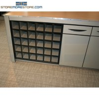 Counter High Rolled Blueprint Cabinets | Construction Plan ...