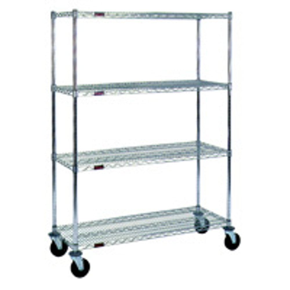 Metal Shelving Rolling Metal Wire Shelving 36