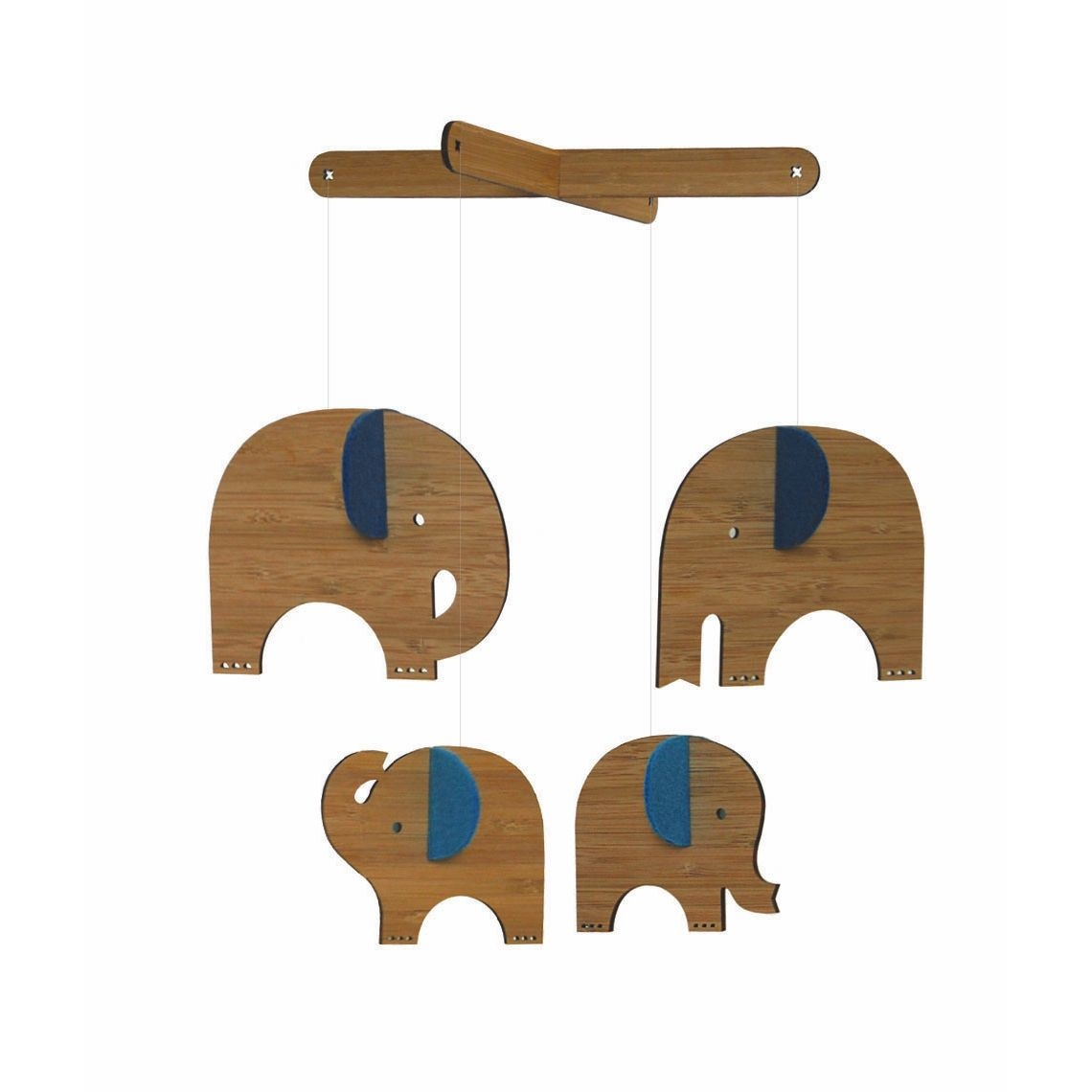 Wooden Baby Mobile Just Cause Gifts For Baby Nursery Decorations Wooden