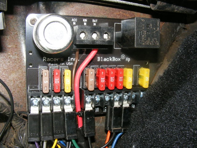 1965 Corvair Fuse Box - Wiring Data Diagram