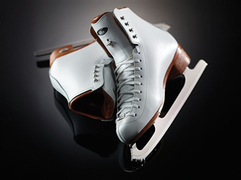 Ladies Riedell 3030 Aria White Boot Only