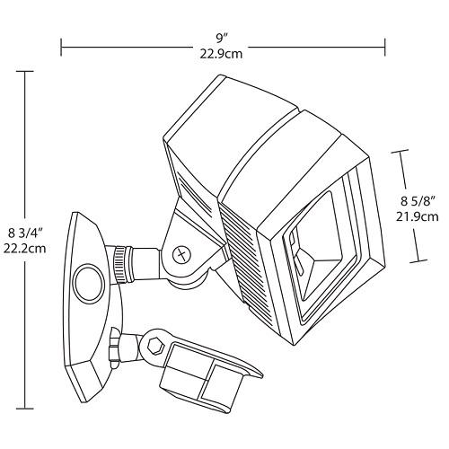 rab outdoor flood light sensor wiring diagram