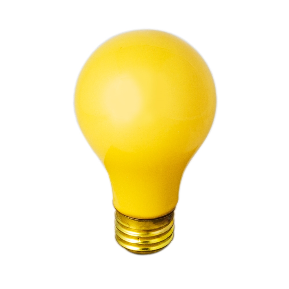 60w Light Bulb 60 Watt Light Safe Yellow Bulb