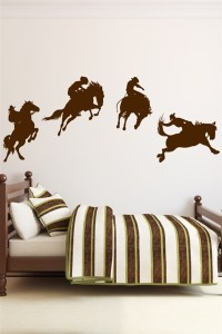 Cowboy Wall Decals | WALLTAT