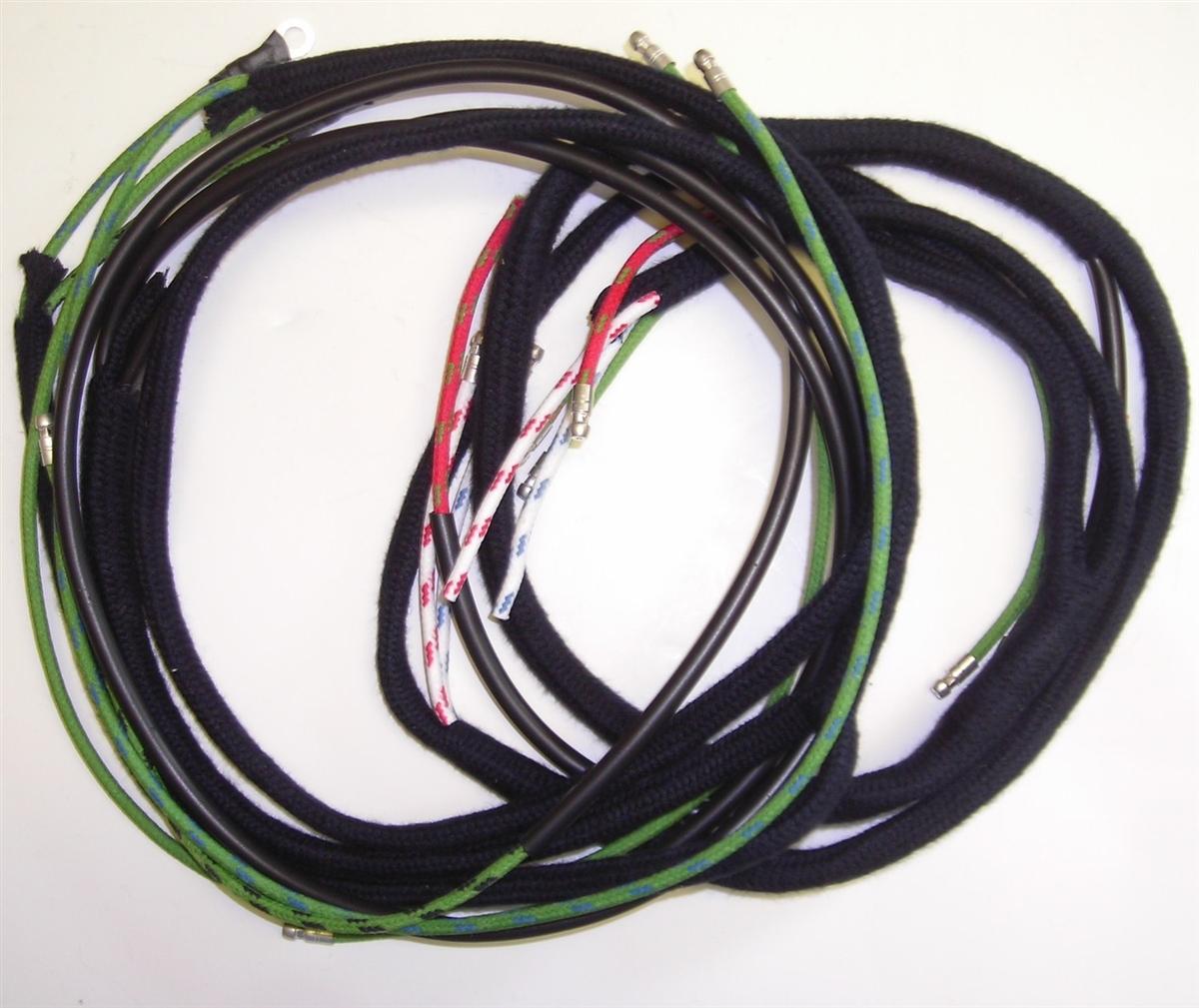 57 jaguar wiring harness