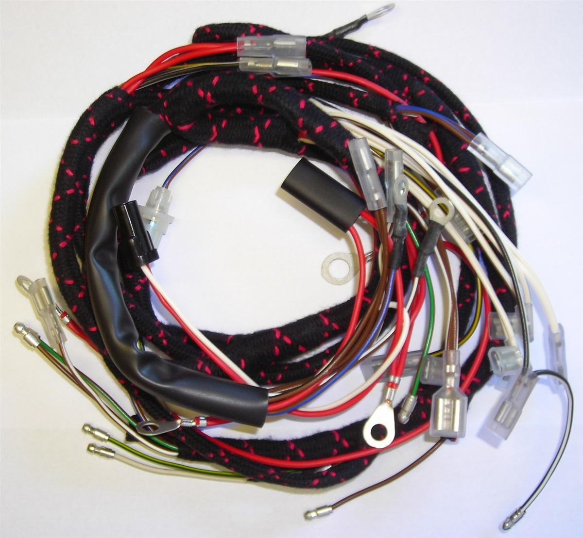 1967 triumph t100 wiring harness