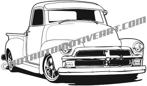 1954 chevy c10 pick up