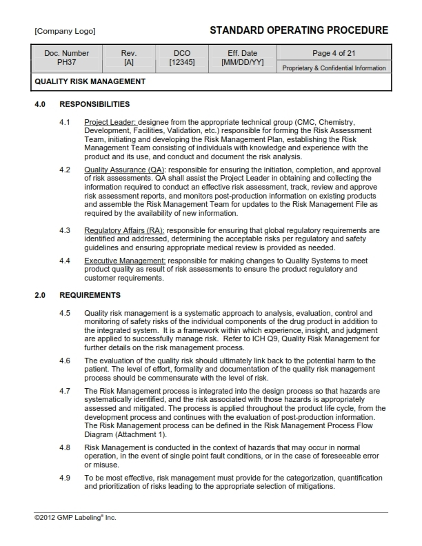 Validation Sop Template  Equipment Lease Agreement Form Download