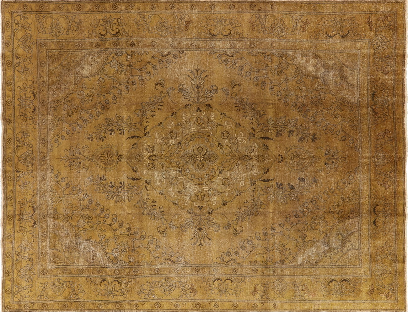 Grand View Larger Photo Persian Orential Overdyed Hand Knotted Wool Area Rug Wool Area Rugs 7x9 Wool Area Rugs Near Me houzz-02 Wool Area Rugs