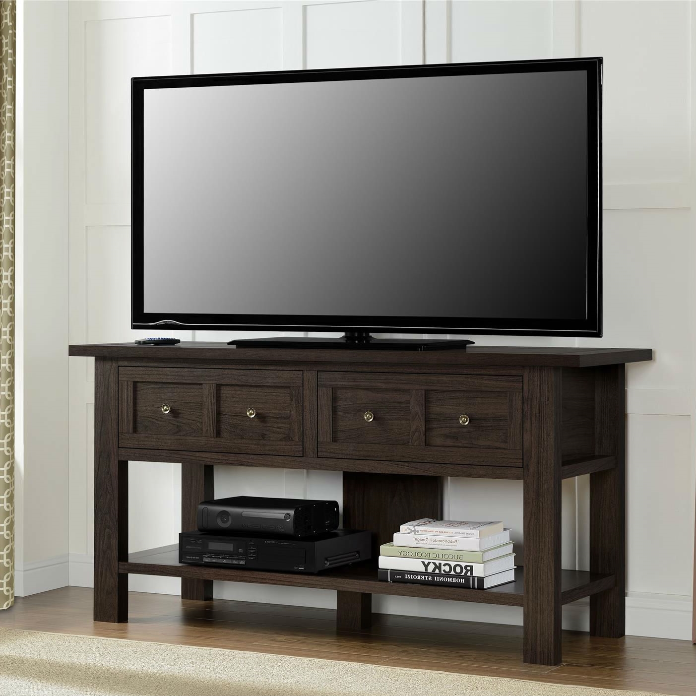 Tv Table Classic 55 Inch Tv Stand Versatile Accent Console Table