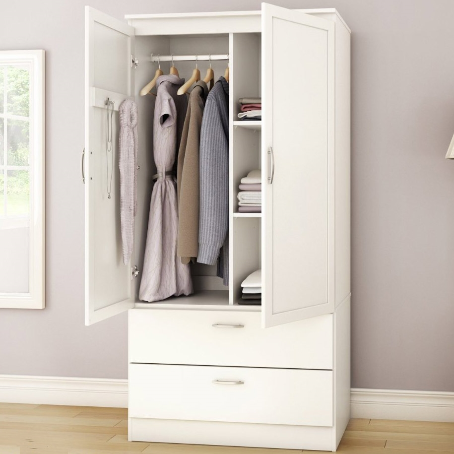 Bedroom Clothes Storage White Armoire Bedroom Clothes Storage Wardrobe Cabinet