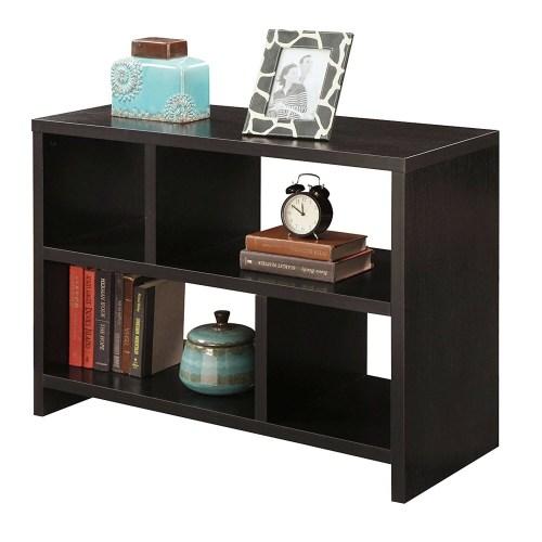 Medium Crop Of Black Wood Shelf