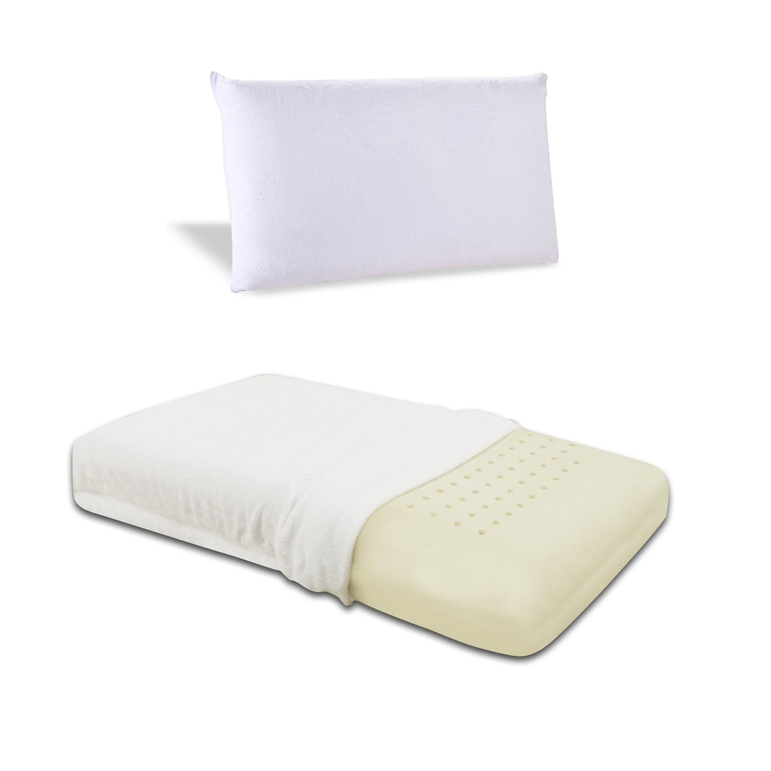 Firm Memory Foam Pillow Queen Size Ventilated Memory Foam Pillow With Cover Medium Firm