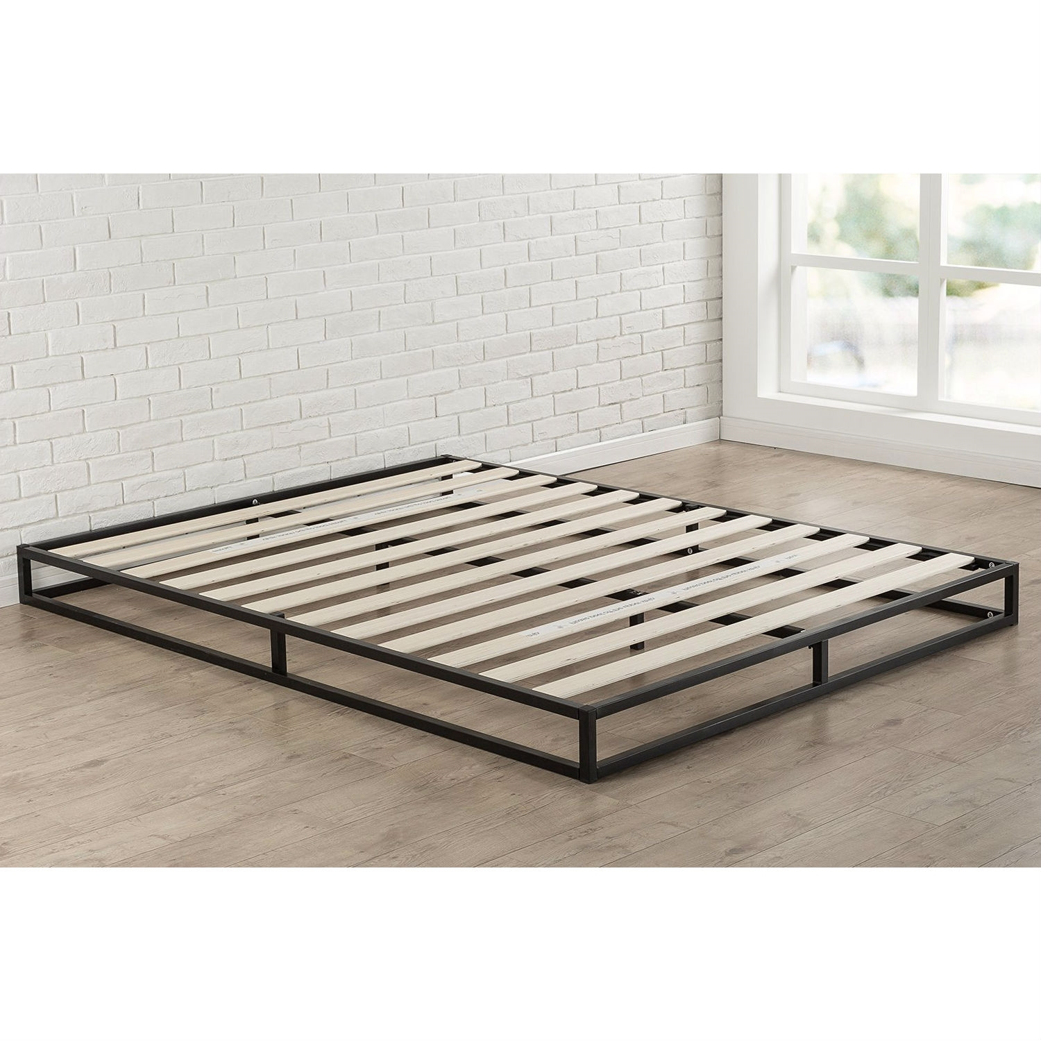 Very Low Platform Bed King Size 6 Inch Low Profile Metal Platform Bed Frame With